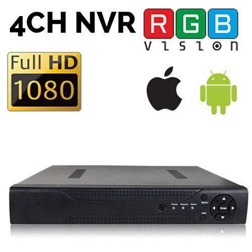 RGB-N1008F 8CH 1080P NVR mini síťový IP rekordér
