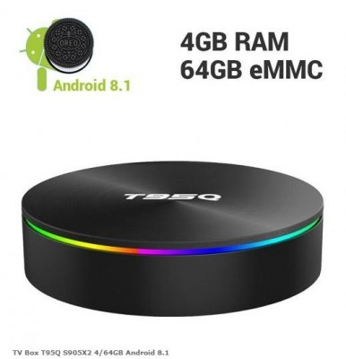 TV Box T95Q S905X2 4/64GB Android 8.1