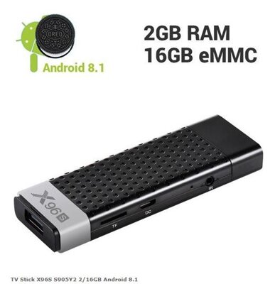 TV Stick X96S S905Y2 2/16GB Android 8.1