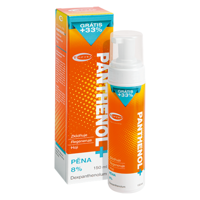 PANTHENOL + PĚNA 8% 150ml