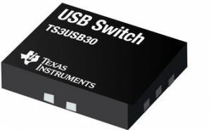 TS3USB30EDGSR High-Speed USB 2.0 1:2 Multiplexer/Demultiplexer Switch