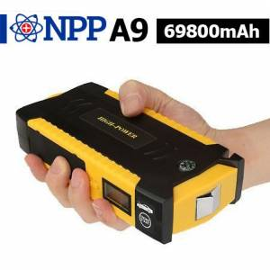 NPP A9 3v1 69800mAh power bank a startovací box LED