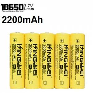 UltraFire 2200mAh 3.7V 18650 NCR Li-ion flat-top