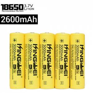 UltraFire 2600mAh 3.7V 18650 NCR Li-ion flat-top