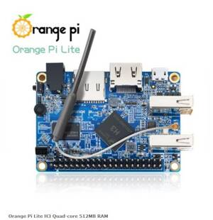 Orange Pi Lite H3 Quad-core 512MB RAM