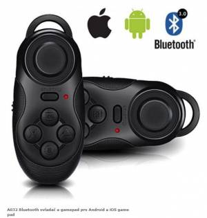 A032 Bluetooth ovladač a gamepad pro Android a iOS game pad
