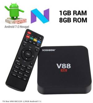 TV Box V88 RK3229 1/8GB Android 7.1
